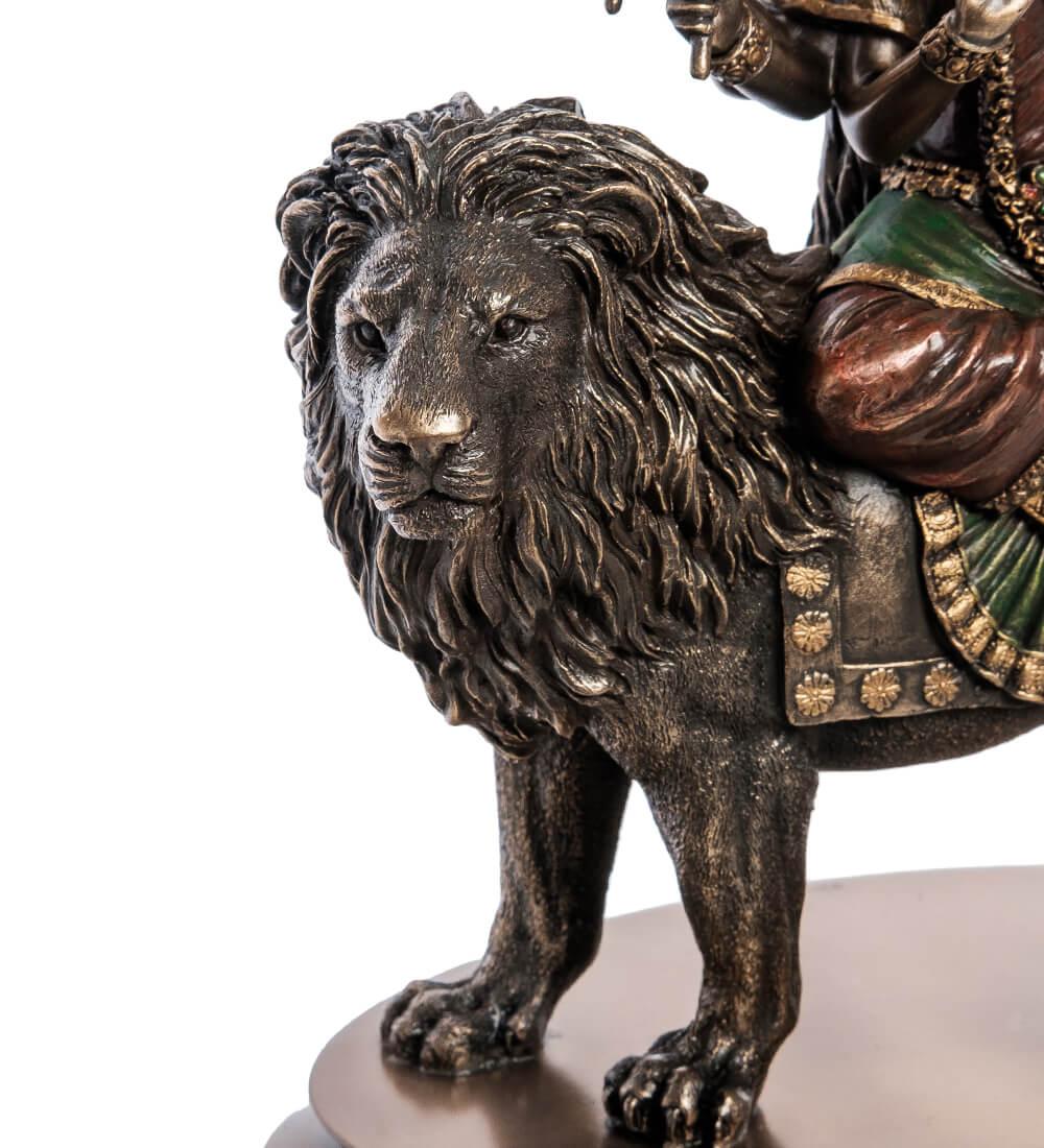 """Статуэтка """"Богиня Дурга - защитница богов и мирового порядка"""" WS-998"""
